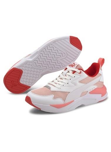 Puma Unisex Siyah X-Ray Lite Sneakers 374122 Pembe
